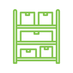 icon representing inventory control